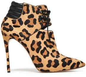 973a7fdf8 Casadei Zimbabwe Leopard-print Calf Hair Ankle Boots