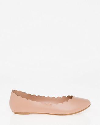 Le Château Faux Leather Ballerina Flat