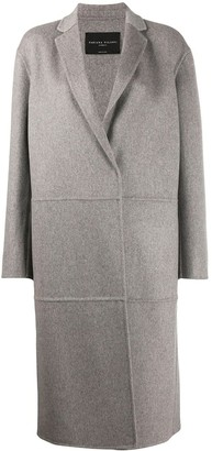 Fabiana Filippi Long Sleeve Boxy Fit Coat