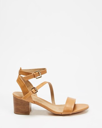 Spurr Women's Brown Mid-low heels - Alessia Heels - Size 6 at The Iconic