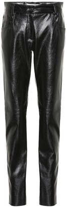 MSGM Faux leather skinny pants