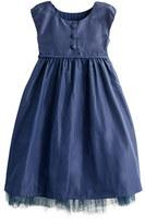 Grayson Girls' Collection silk taffeta dress