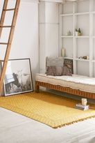 Urban Outfitters Heidi Overdyed Block Print Rug