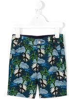 Stella McCartney palm tree chino shorts