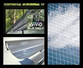 VViViD One-Way Silver Mirror Finish Static Cling Vinyl Window Wrap Film DIY Small Roll Various Sizes