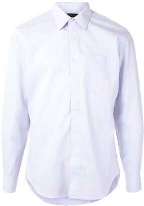 Durban Patch-Pocket Long Sleeved Poplin Shirt