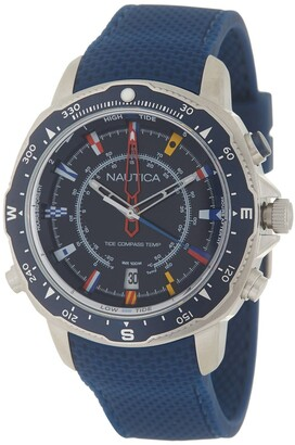 Nautica Men's Soledad South Blue Watch, 46mm