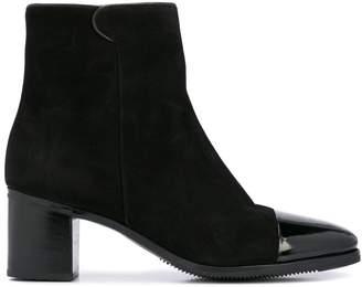 Gravati zipped ankle boots