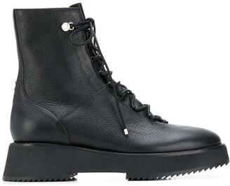 Jimmy Choo Haysley combat boots