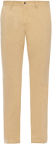 Loewe Slim-leg cotton chino trousers
