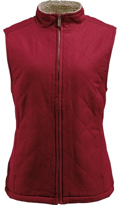 Wolverine Women's Belmont Sherpa Lined Quilted Vest