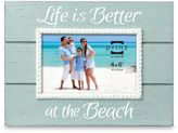 """Bed Bath & Beyond Coast Time """"Life is Better"""" 4-Inch x 6-Inch Frame"""