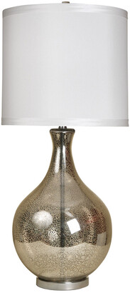 Stylecraft Style Craft 35.5In Classical Urn Mercury Glass Table Lamp