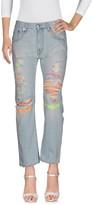 (+) People + PEOPLE Denim pants - Item 42566249