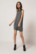 Azalea Sleeveless Button Down Dress
