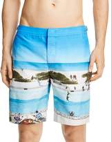Orlebar Brown Pine Vacay Photographic Swim Trunks