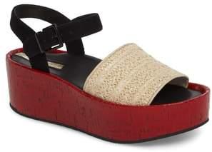 Kenneth Cole New York Danton Platform Wedge Sandal