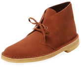 Clarks Leather Lace Chukka Boot