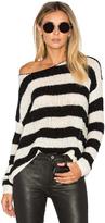 ATM Anthony Thomas Melillo Boatneck Drop Shoulder Sweater