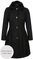 City Chic Winter Rose Coat