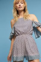 Elevenses Phoebe Cold-Shoulder Playsuit
