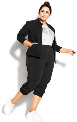 City Chic Active Jacket - black