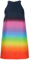 Halter neck multicolour dress