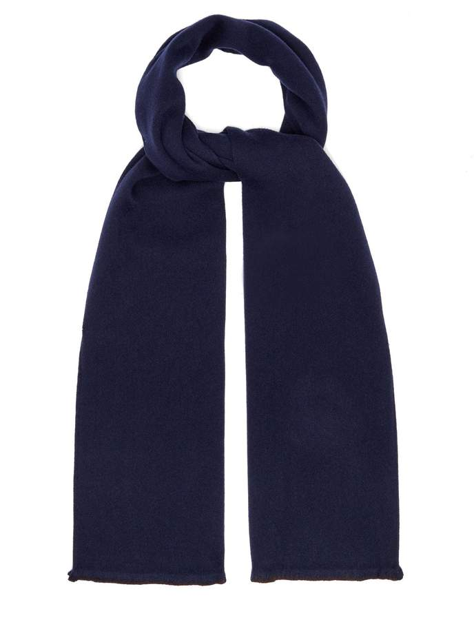 Gucci GG Supreme wool-blend scarf