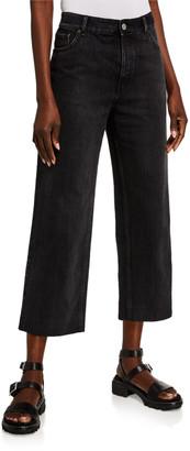 Balenciaga Cropped Straight-Leg Jeans