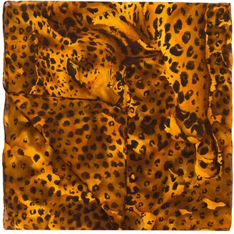 Yves Saint Laurent Pre-Owned Animal Print Scarf