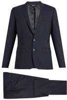 Dolce & Gabbana Martini-fit Notch-lapel Wool-blend Suit