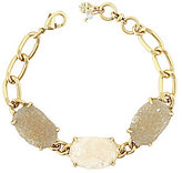 Lucky Brand Druzy Chain Link Line Bracelet