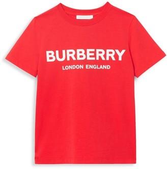 Burberry Little Kid's & Kid's Robbie Logo Tee