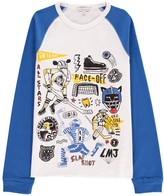 Little Marc Jacobs Hockey T-Shirt