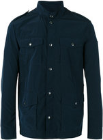 Armani Jeans button detail military jacket - men - Polyamide/Polyester - 48