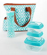 Fit & Fresh Bradford Painted Diamonds Insulated Lunch Bag Kit