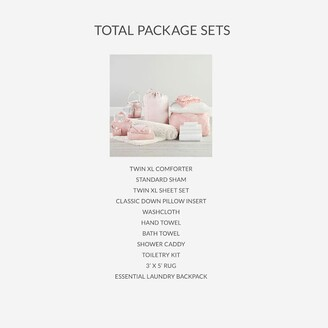 Pottery Barn Teen Whimsical Waves Twin XL Comforter Total Package