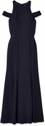 Vera Wang Women's Cold Shoulder Gown