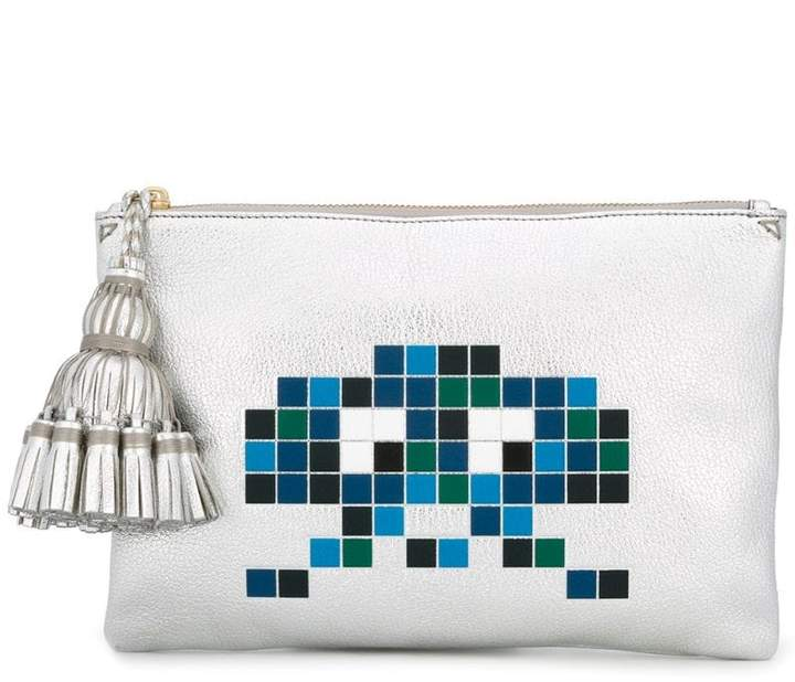 Anya Hindmarch 'Space Invaders' clutch