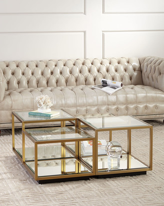 REGINA ANDREW Noel Glass Coffee Table