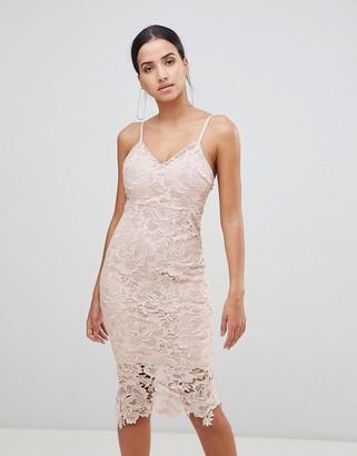 AX Paris Lace Cami Midi Dress