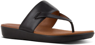 FitFlop Delta Leather Toe-Thong Sandal