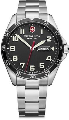 Victorinox Field Force Stainless Steel Bracelet Watch