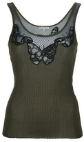 Emilio Pucci butterfly tank top