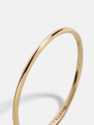 BaubleBar Virginia 14K Gold Stacking Ring
