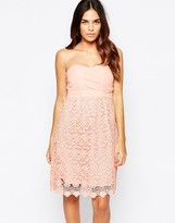 Traffic People Carry On Crochet Crusade Dress With Bandeau Top