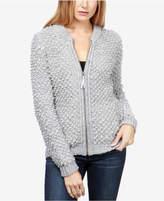 Lucky Brand Bomber-Inspired Sweater Jacket