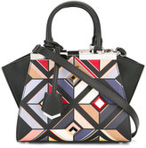Fendi mini '3Jours' printed tote bag - women - Leather - One Size