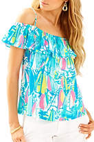 Lilly Pulitzer Ruffled Top