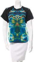 Theyskens' Theory Silk Short Sleeve T-Shirt